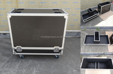 For QSC K12 Speaker ATA Flightcases, Custom Design with Protective Foams and Caster Boards