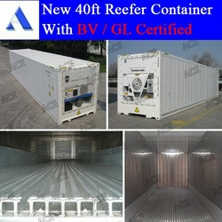 GL BV certified 10ft 20ft 40ft refrigerated containers for sales