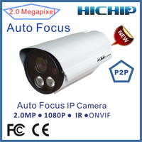 2.0Megapixels 1920*1080 High Definition p2p IP Camera zoom lens ip camera