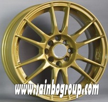 golden high performance 15 inch alloy wheel