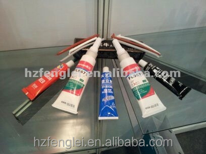 High Temperature Silicone Gasket Maker and sealant tube fill the machine parts by manufacturer