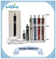 Newest!! 100% Original kanger e-cigarette kit kanger EMOW kit 1300 mah variable voltage evod vv