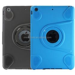 Fashionable rotate 360 degree flip TPU case for ipad mini