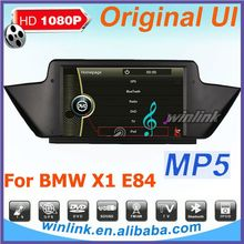 1080P gps for BMW X1 E84 with dvd gps Ipod