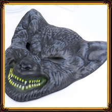 DX-MK-1002 Wholesale Custom EVA mask half Face Masks Halloween Wolf head mask