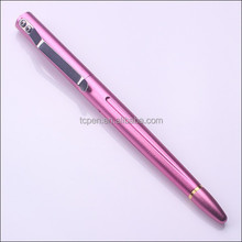 TC-T011 Pink Light Weight Designed Metal Tactical Pen for Woman Use