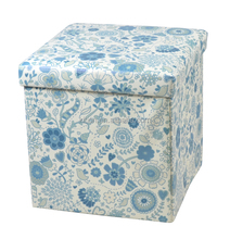 Cheapest!!! Oriental flower blooming folding storage seat