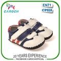 Infantil el uso al aire libre de cuero genuino diseño a rayas para bebés de zapatillas de deporte zapatos de foy c-1315 chicos