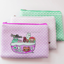 Neoprene kids Pencil bag/Pencil case with zipper