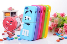 for huawei P8 lite case, 2015 new arrival silicone 3D cartons case for Huawei P8 lite case