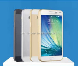 Metal frame case with back cover for galaxy A3