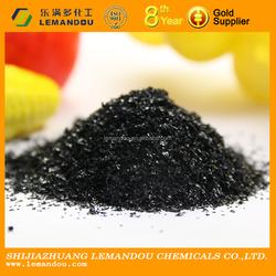 Huminrich Leonardite Source powder potassium humate flakes China manufacturer