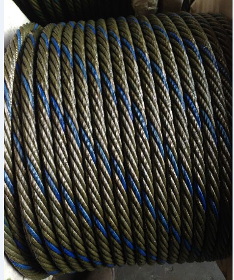 galvanized and ungalvanized steel wire rope for crane