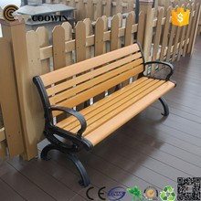 2015 most populat wood plastic composite garden chair, made in china