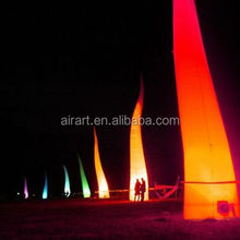 lights cone inflatable event decoration