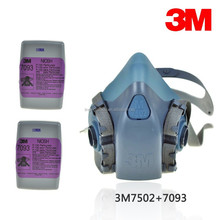 3M half face mask 3M 6502 mask same with 3M 7502 mask with 3M 6001 cartridge