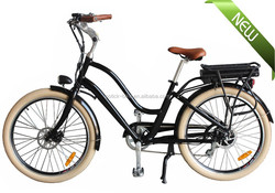 Retro model chopper beach cruiser cheap city Electric bike with fat tire