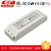 KV-12036-TD Triac dimmable 36watt 12v led adapter