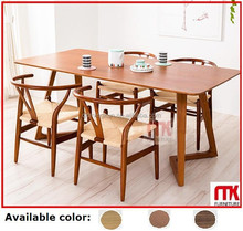 2015 New hot wooden dining table and chairs