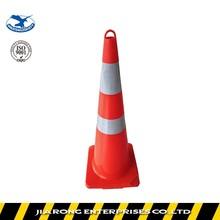 Lower Factoty Price 93cm Soft Flexible PVC plastic traffic cone