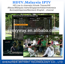 Local channels Full HD for 195+ channels for HDTV package C Malaysia IPTV APK with Malaysia Indonesia Philippines Hk TW English