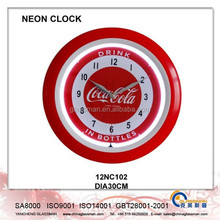 Wall decoration Neon clock/LED clock 12NC102