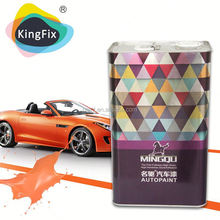 Wholesale satin black auto paint/car refinish factory price made in China