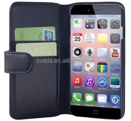 2014 hot selling PU leather case for iphone 6,for iphone 6 case