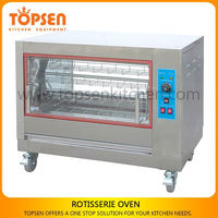 Reliable quality industrial chicken grill, industrial electric grill, grill chicken rotary factory price