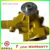 hot-sale water pump 6D95 for excavator