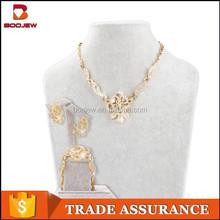 dubai gold plated jewelry set/wedding custom jewellery sets designs