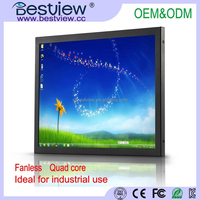 Bestview Factory Direct 15 inch Industrial touch panel all in one pc