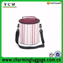 Custom Fashion rolling portable wine cooler bag