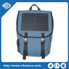 Canvas Solar charging bag with10W, 6V sunpower solar panel for laptop/iphone/ipad