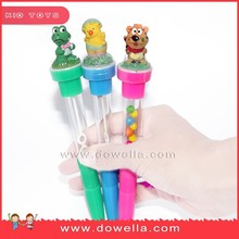 flash bubble ballpoint pen with stamp gift for children