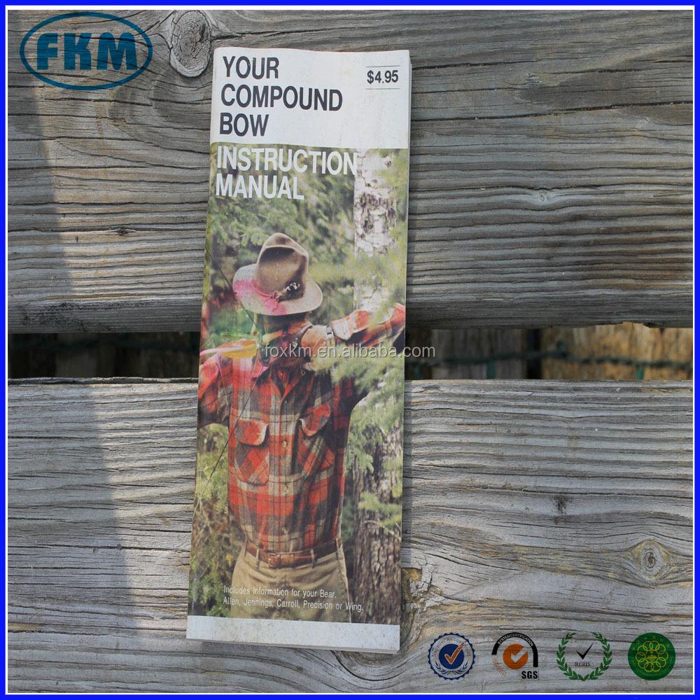 FRED OSO libro MANUAL de INSTRUCCIONES de la caza de tiro con arco arco compuesto