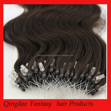 Qingdao Fantasy Top Quality 10a Peruvian Unprocessed Virgin Hair, fish wire hair extension