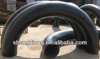 U steel bend ductile iron 90 deg double flanged bend