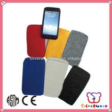 GSV SEDEX Factory cheap wholesale handmade hot sale non woven felt cell phone case
