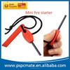 Mini Magnesium Fire Starter Flint Stone Lighter Kit for outdoor use
