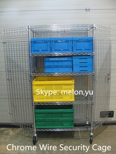 Factory Direct Sales Chrome Wire Mesh Security Cage 12 years Professional Manufacturer