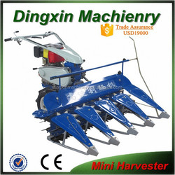 4S-120 Sharft driven small wheat harvester