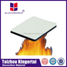 Alucoworld ceiling decoration systems acp a2 grade acp walls panels with ldpe core