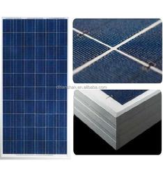 255W Polycrystalline solar module of solar panel system with CE TUV