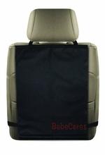 High quality black car back seat kick mat