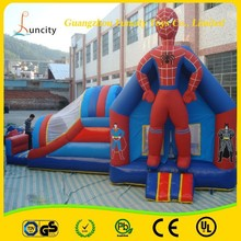 Hot sale commercial cutomized inflatable combo games/house jumping games/bouncy combo with slide