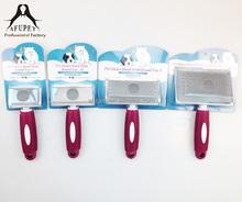 anti slip handle Pet Slicker Brush as seen on tv product