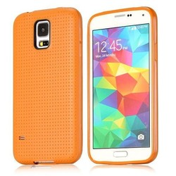Paypal accepted Mesh Pattern TPU Protective case for Samsung Galaxy S5 case