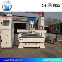 Best!!! cnc woodworking machine three process 1325 engraver cnc