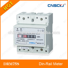 drm75s eléctrico monofásico medidor de kwh